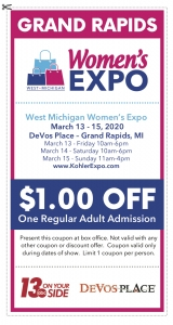 West Michigan Women's Expo - March 13-15, 2020 @ DeVos Place | Grand Rapids | Michigan | United States